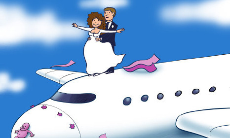 Planewedding